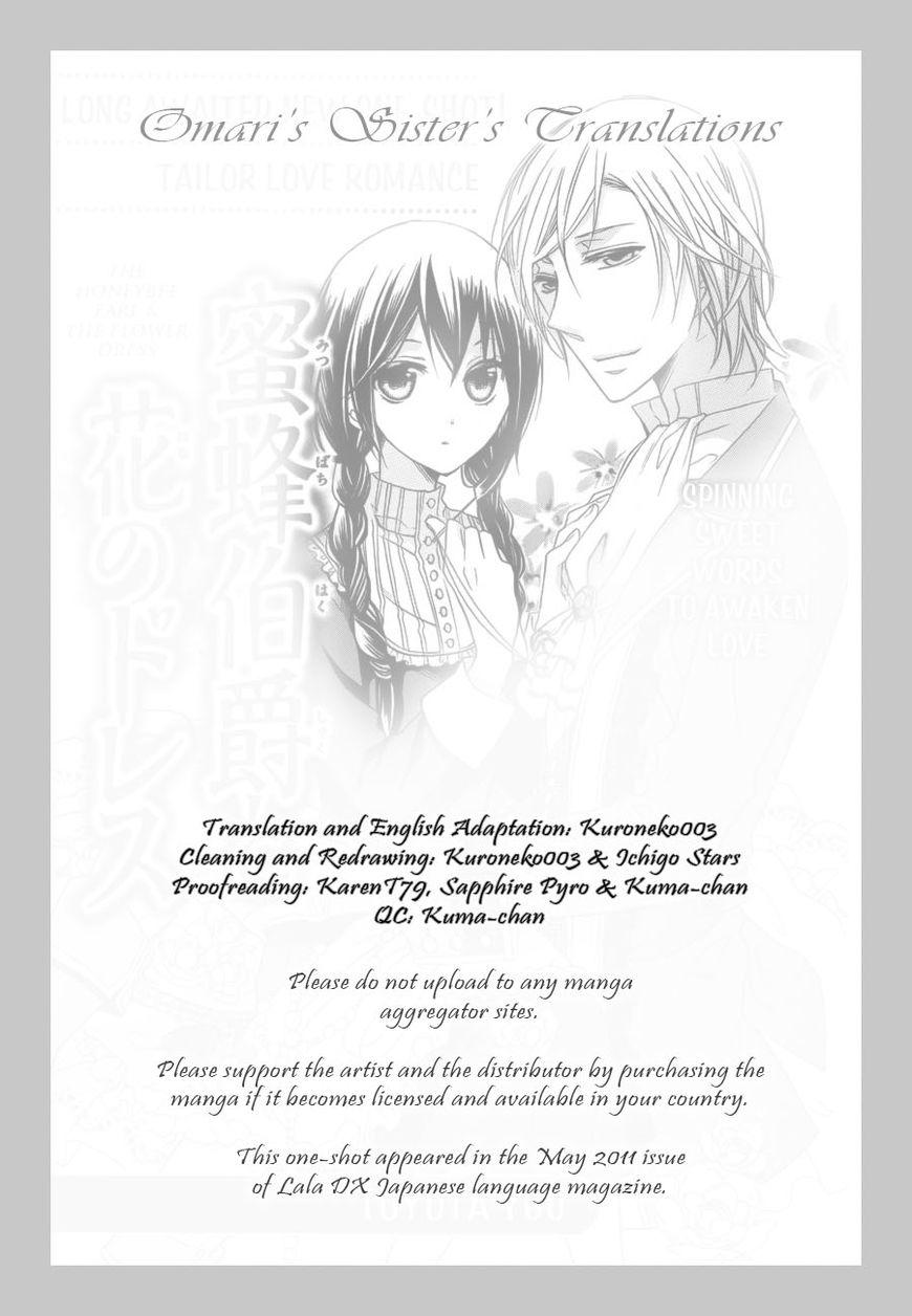 Mitsubachi Hakushaku to Hana no Dress 1 Page 1