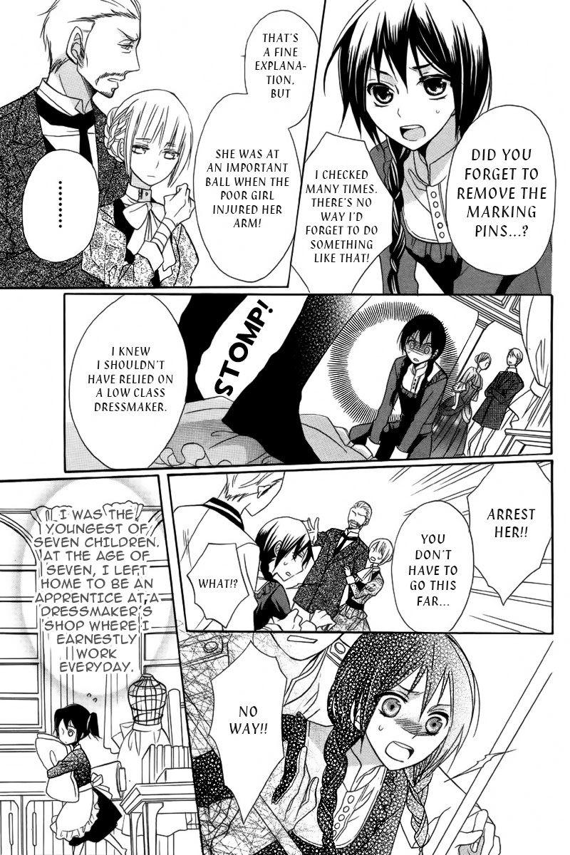 Mitsubachi Hakushaku to Hana no Dress 1 Page 4