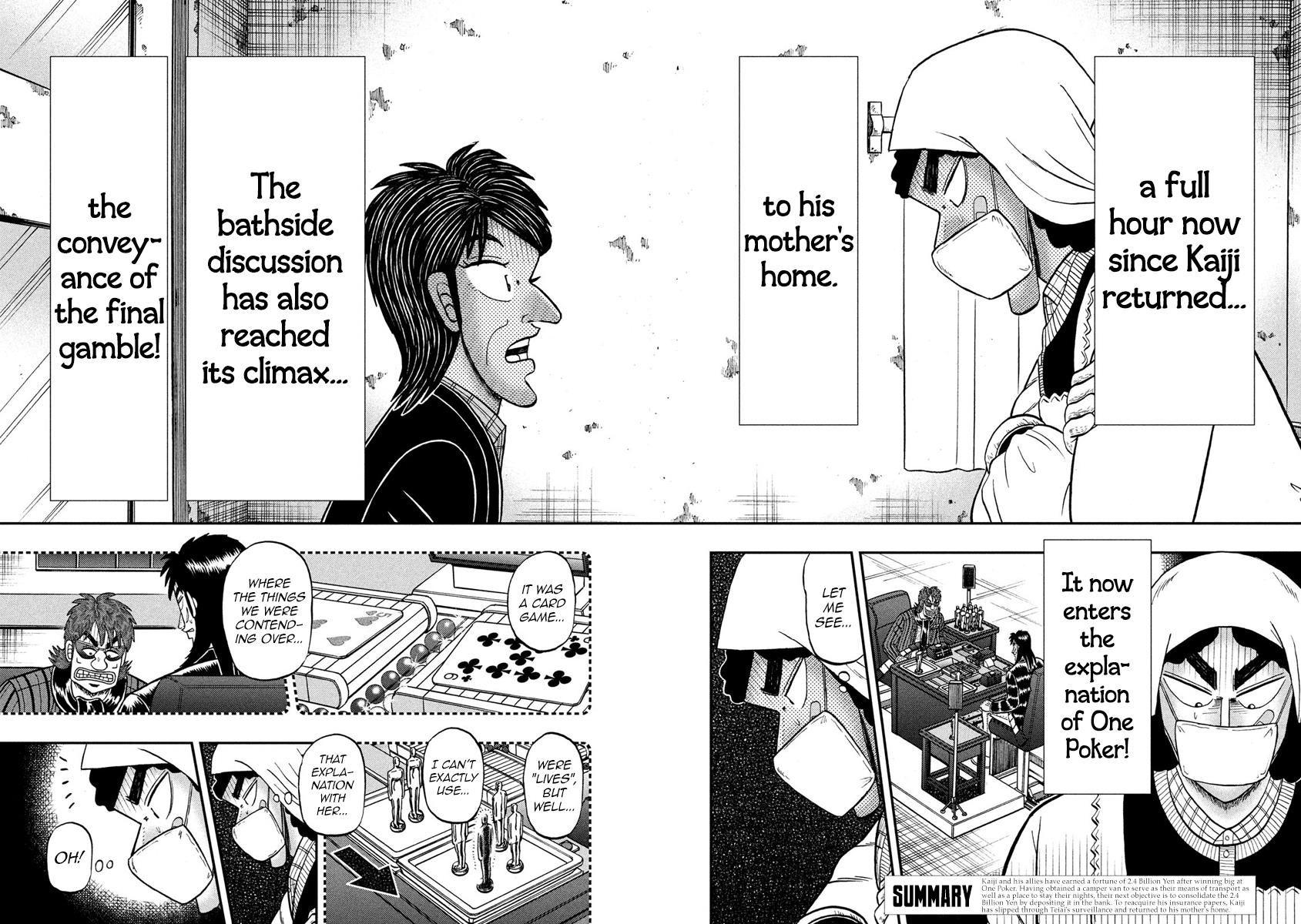 Tobaku Datenroku Kaiji - 24oku Dasshutsu Hen 302 Page 2