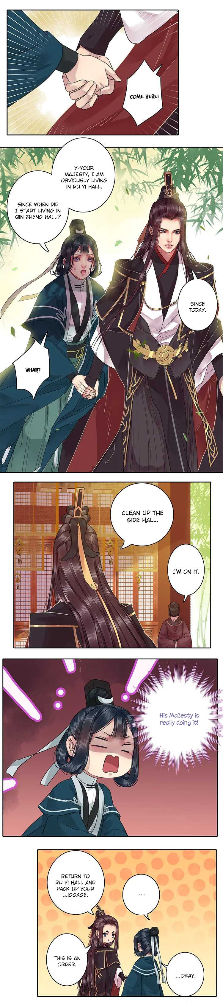 I'm A tyrant in his Majesty's Harem 35 Page 2