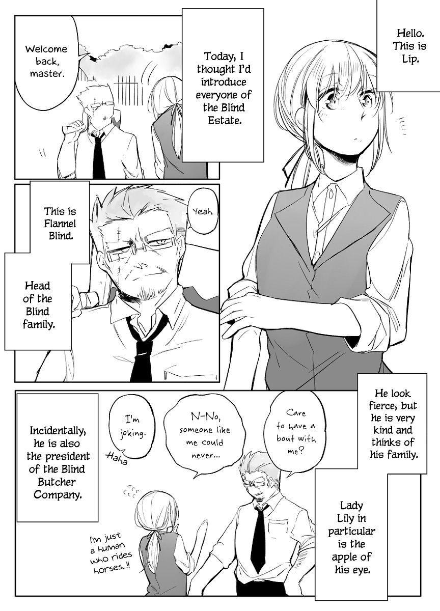 Bocchi Kaibutsu to Moumoku Shoujo 27 Page 1