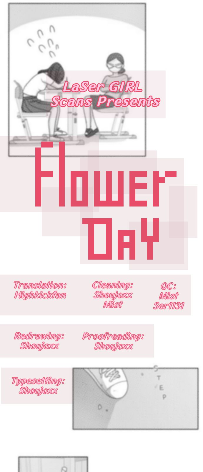 Flower Day 3 Page 1