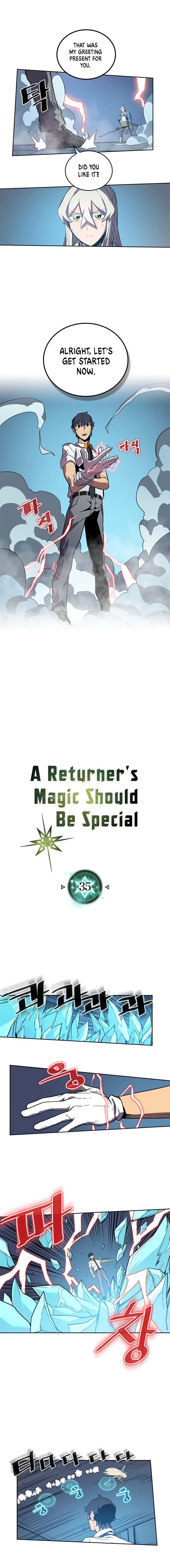 A Returner's Magic Should Be Special 35 Page 1