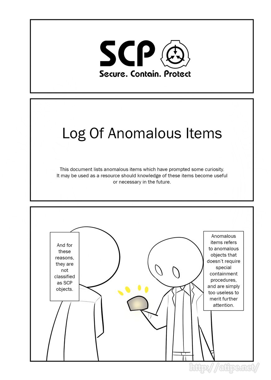 Oversimplified SCP 77 Page 1