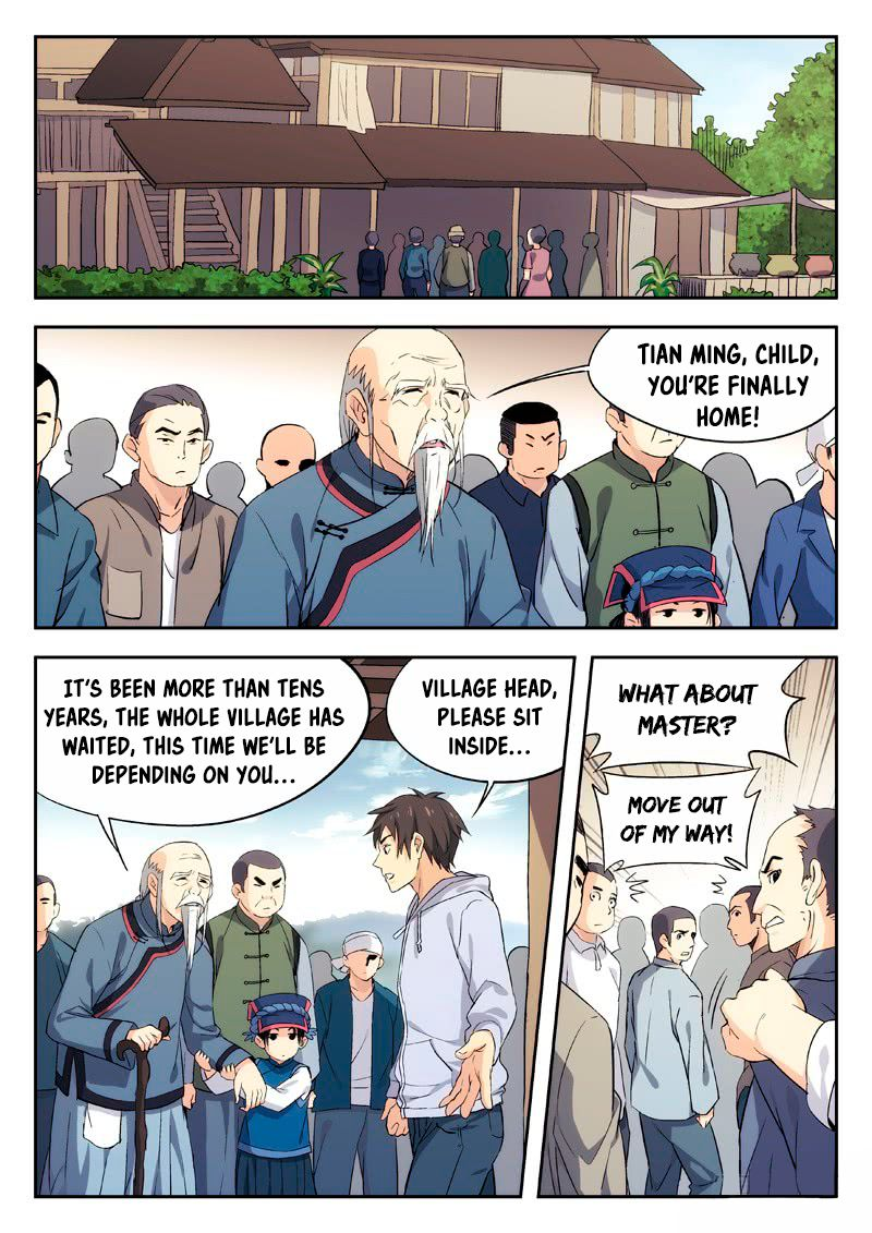 Martial Art Successor 3 Page 1