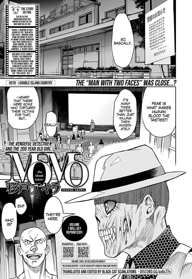 MOMO: The Blood Taker 19 Page 1