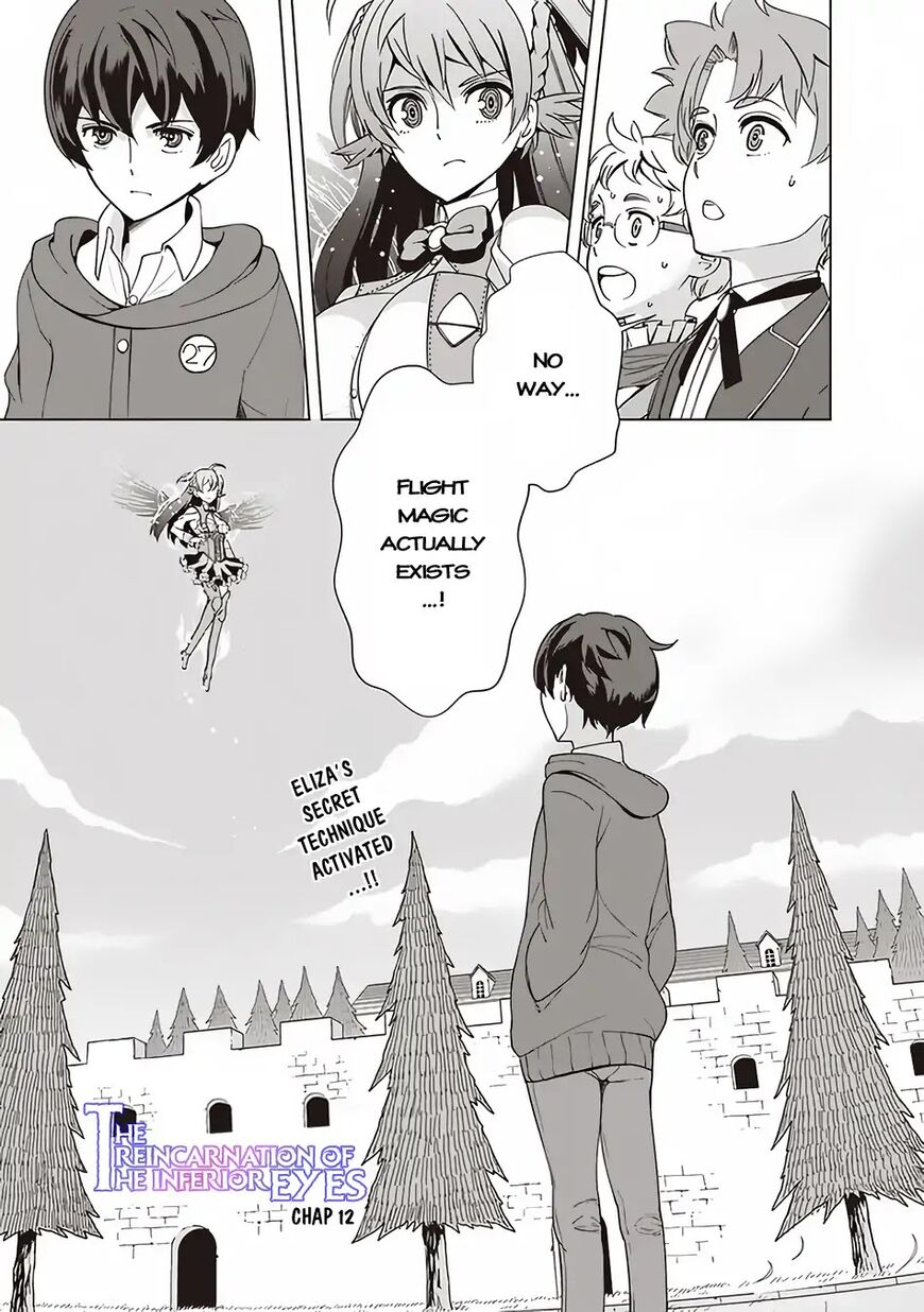 The Reincarnation Magician Of The Inferior Eyes 12 Page 1