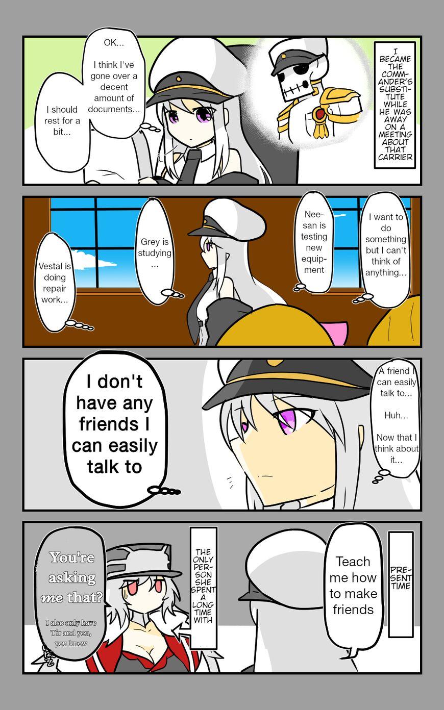 Azur Lane: Skeleton Commander and Enterprise (Doujinshi) 17 Page 1