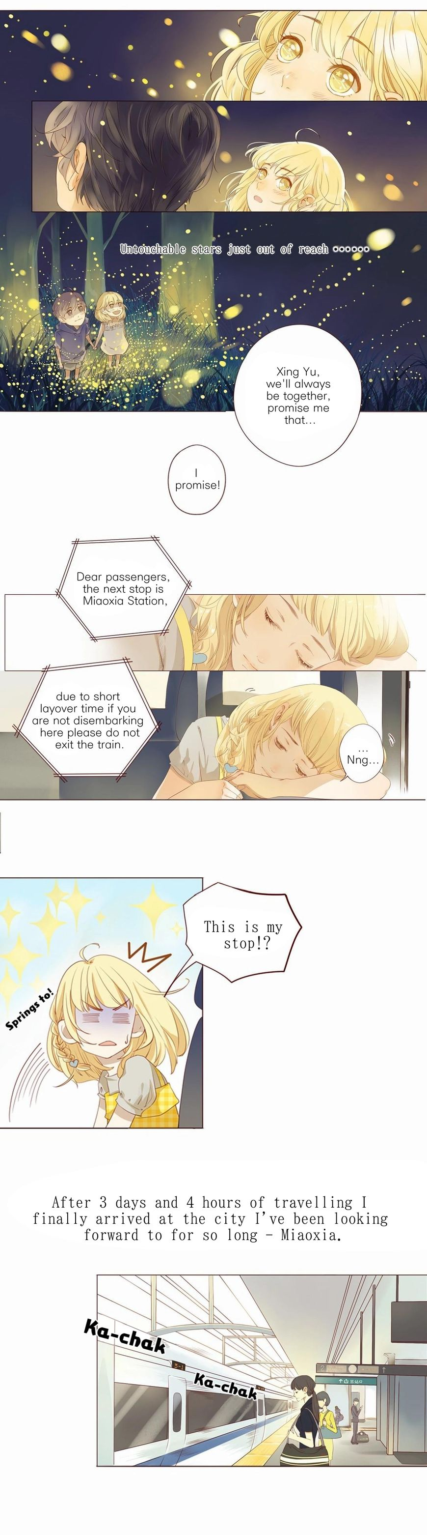 That Year, Under the Starry Sky 1 Page 2