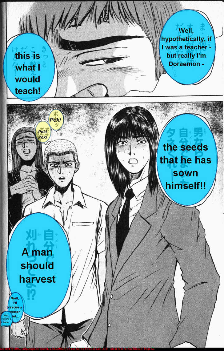 Great Teacher Onizuka 27 Page 1