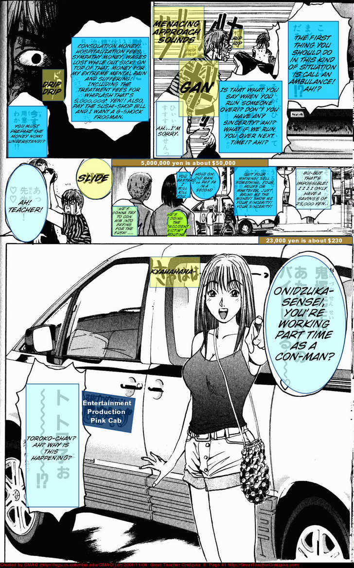 Great Teacher Onizuka 62 Page 1