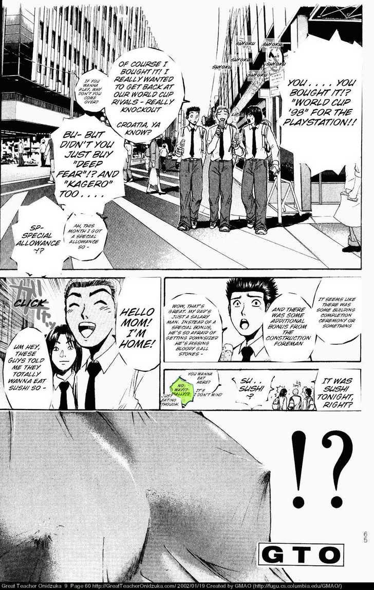 Great Teacher Onizuka 72 Page 1