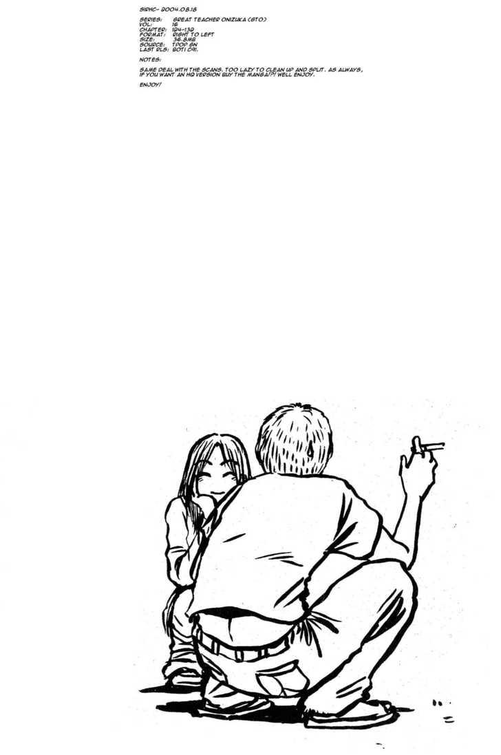Great Teacher Onizuka 131 Page 1