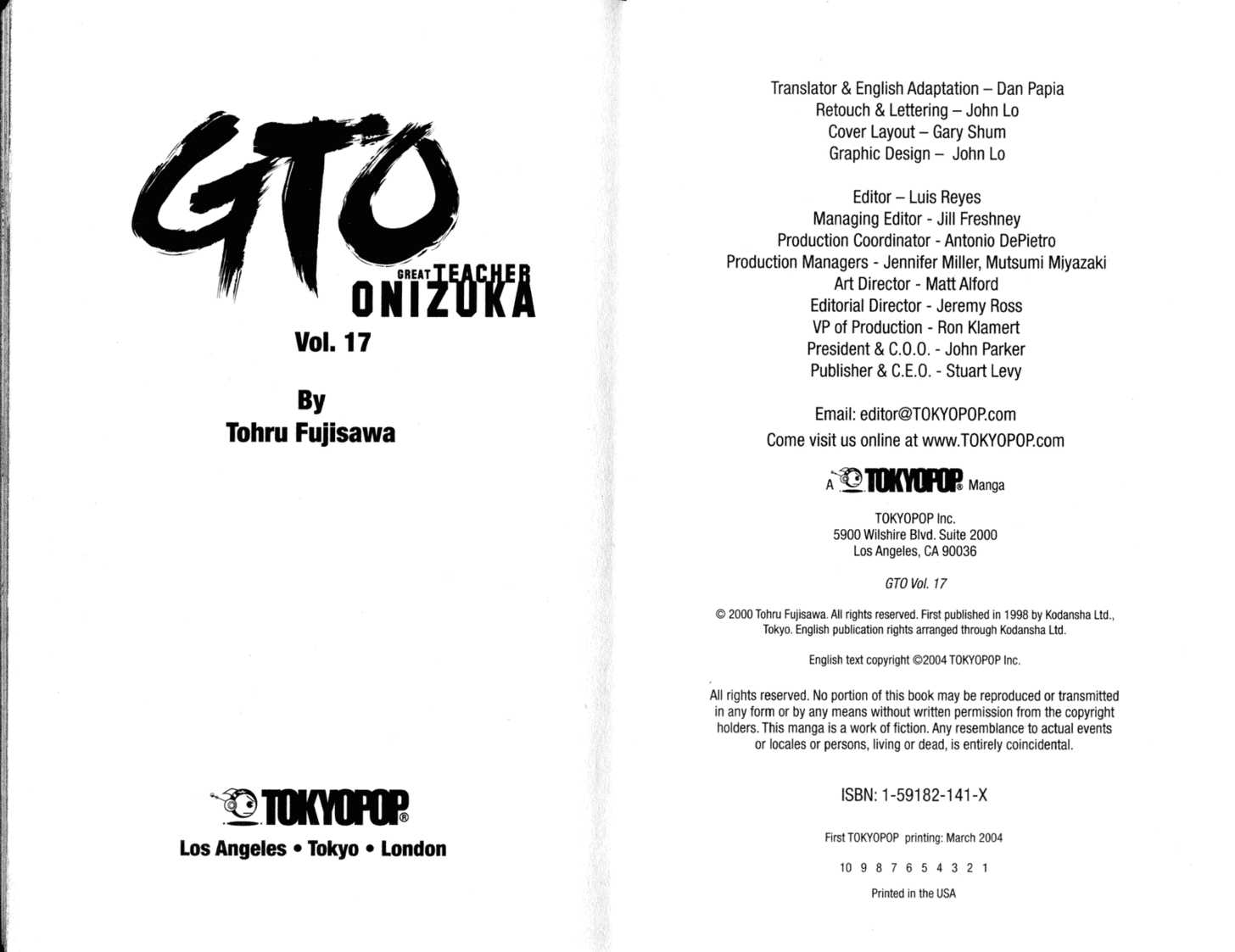 Great Teacher Onizuka 133 Page 2