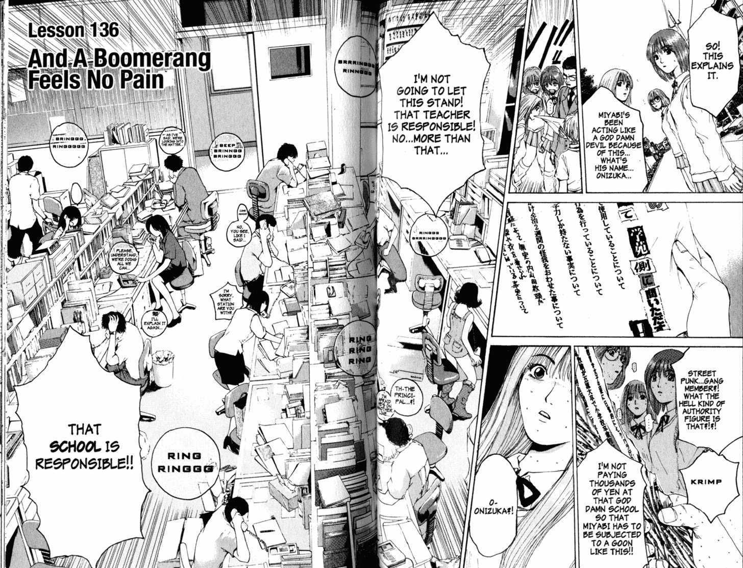 Great Teacher Onizuka 136 Page 1