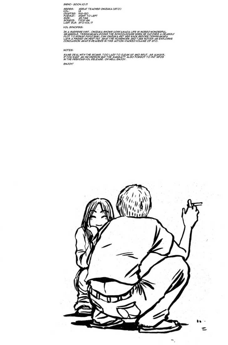 Great Teacher Onizuka 148 Page 1