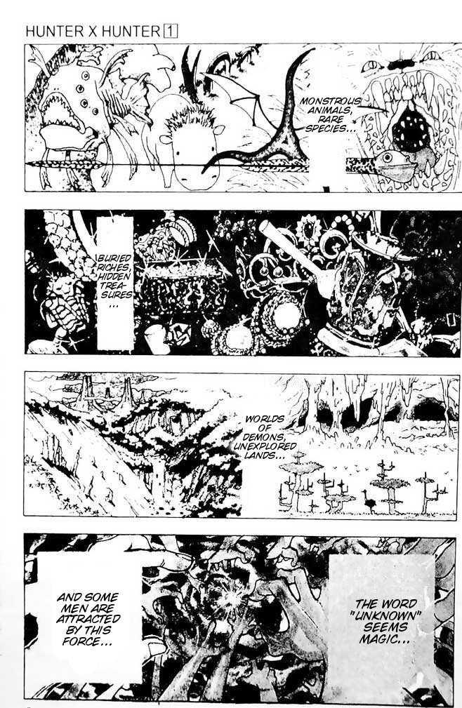 Hunter X Hunter 1 Page 1
