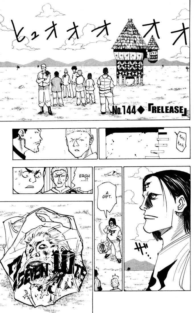 Hunter X Hunter 144 Page 1