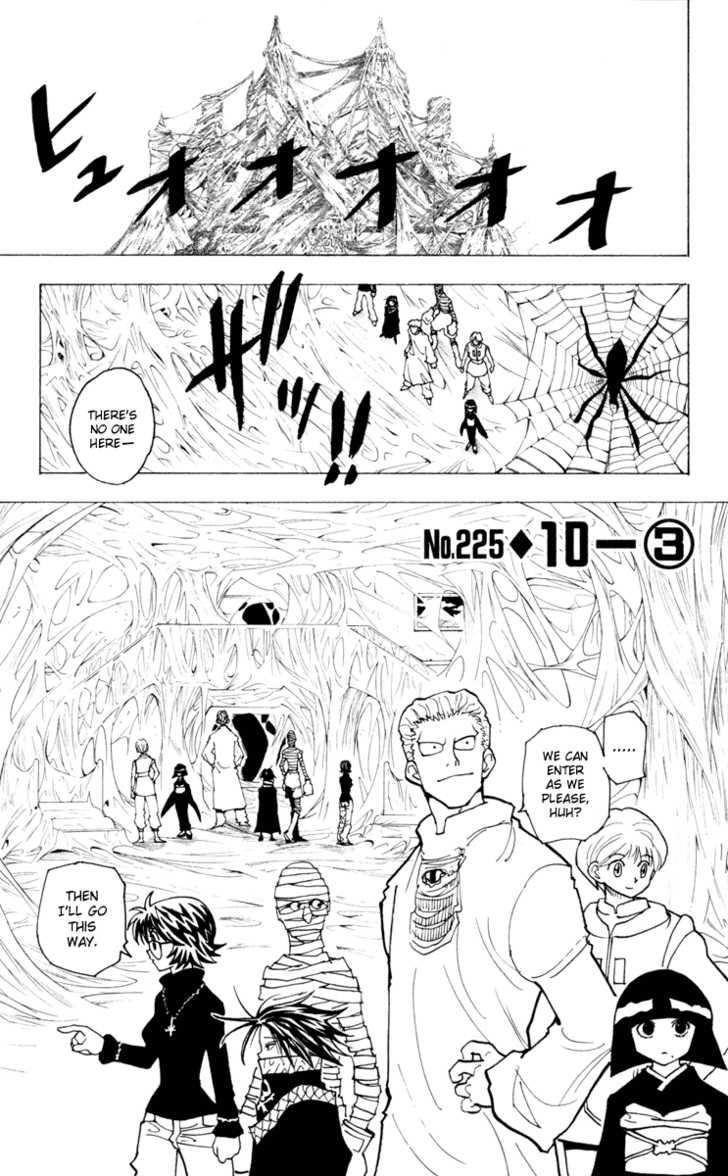 Hunter X Hunter 225 Page 1