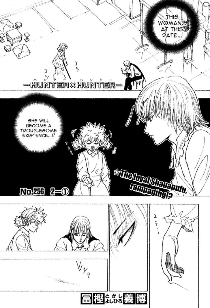Hunter X Hunter 256 Page 1