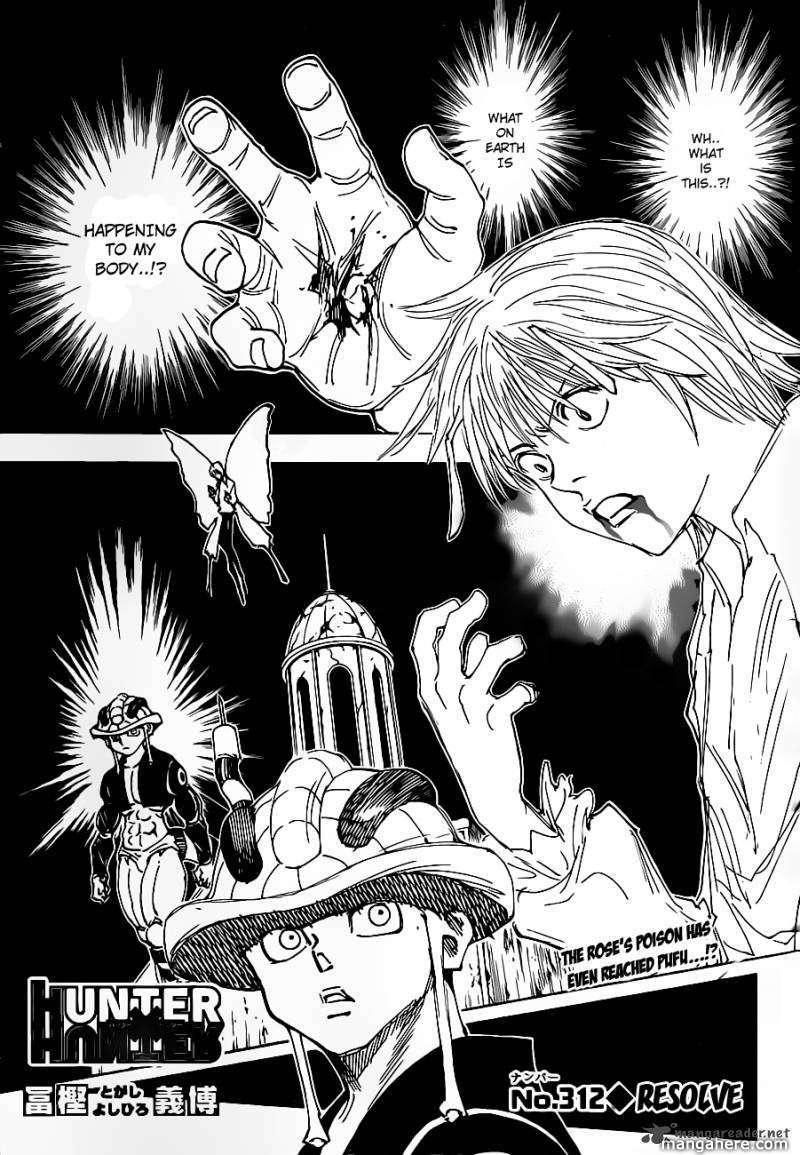 Hunter X Hunter 312 Page 1