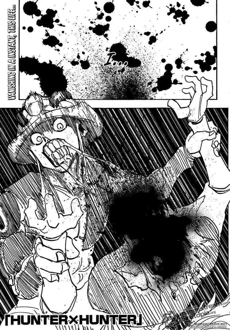 Hunter X Hunter 313 Page 1