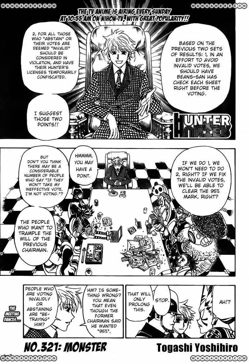 Hunter X Hunter 321 Page 1