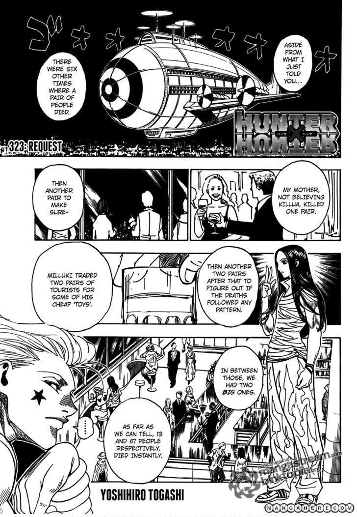 Hunter X Hunter 323 Page 1