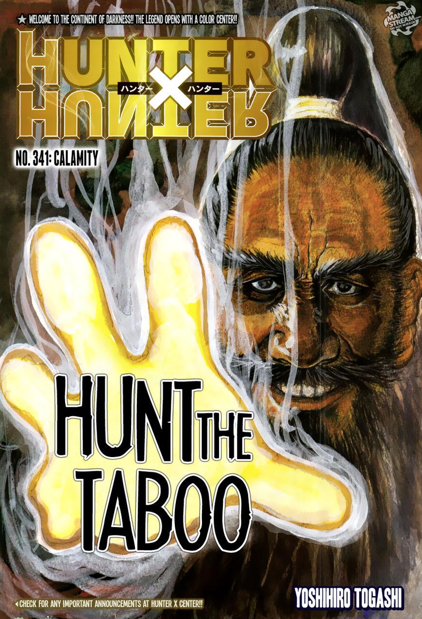 Hunter X Hunter 341 Page 1