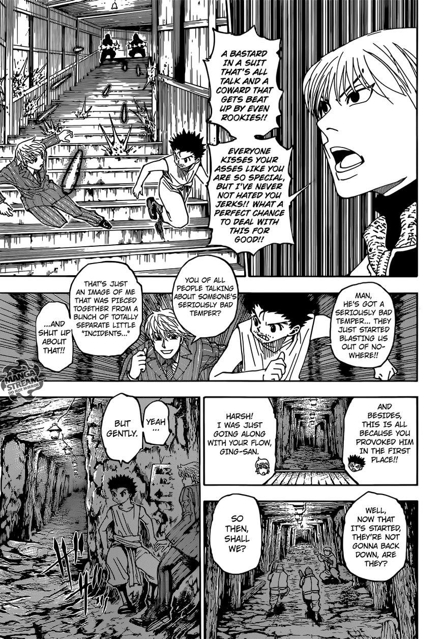 Hunter X Hunter 347 Page 4