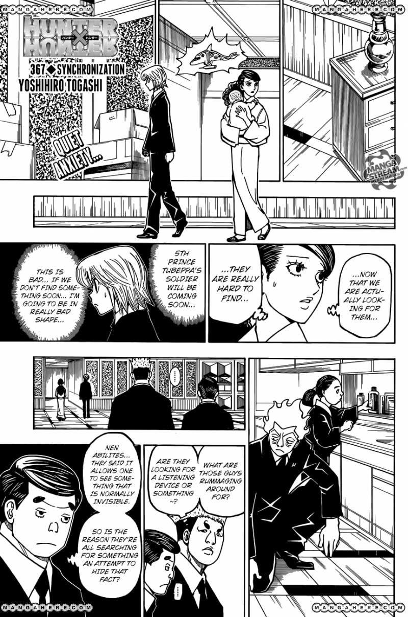 Hunter X Hunter 367 Page 1