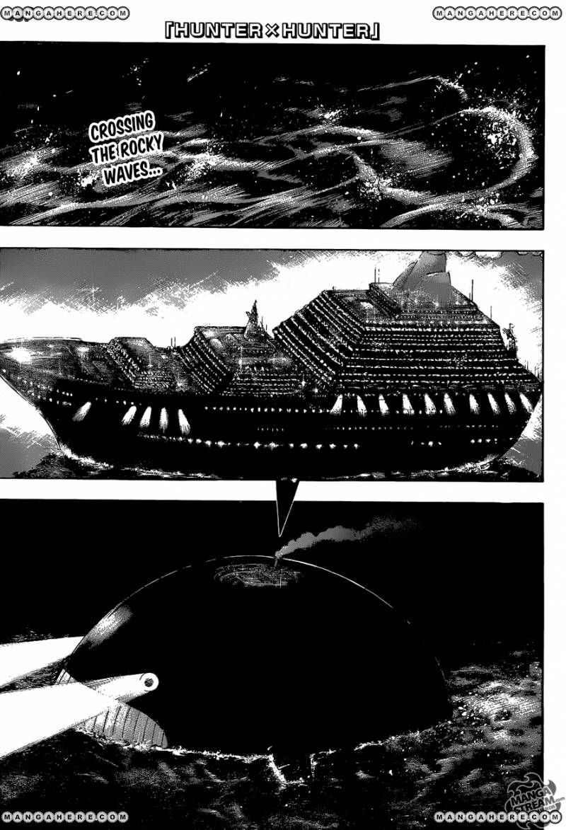 Hunter X Hunter 369 Page 1