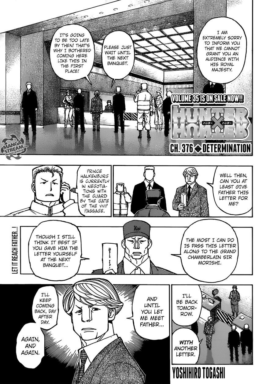 Hunter X Hunter 376 Page 1