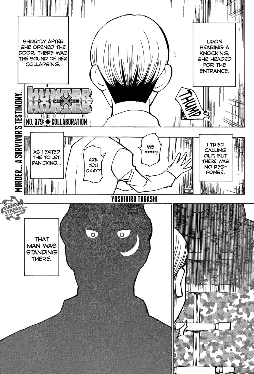 Hunter X Hunter 379 Page 1