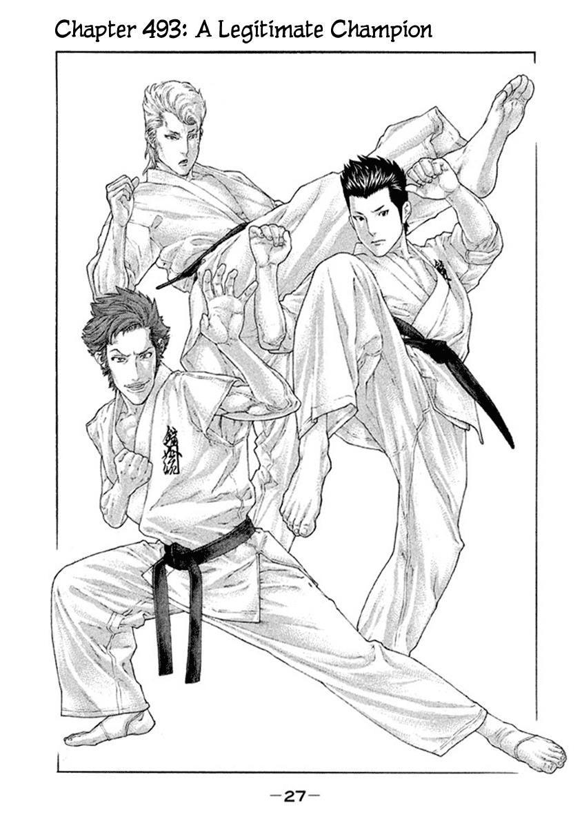 Karate Shoukoushi Kohinata Minoru 493 Page 1