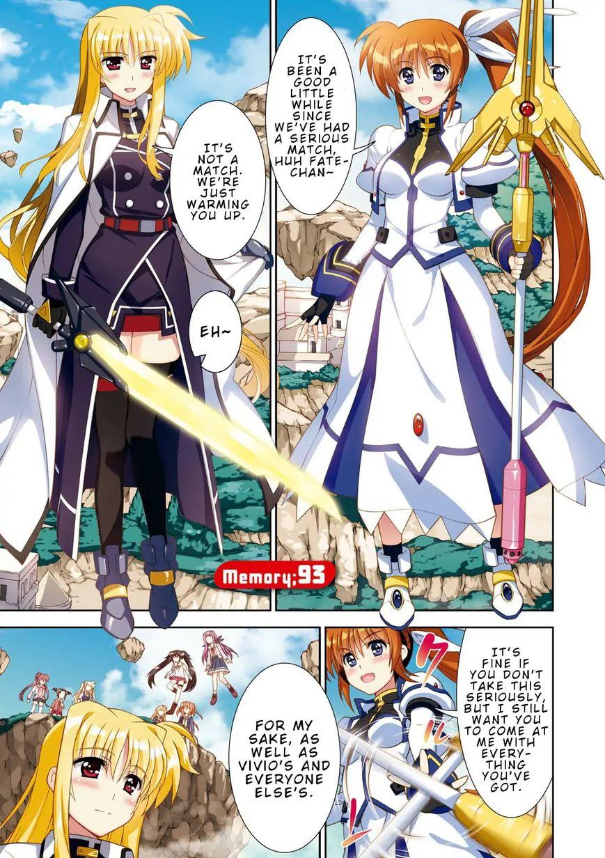 Magical Girl Lyrical Nanoha ViVid 93 Page 2