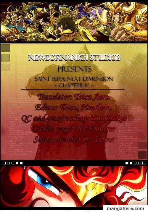 Saint Seiya - Next Dimension 10 Page 1