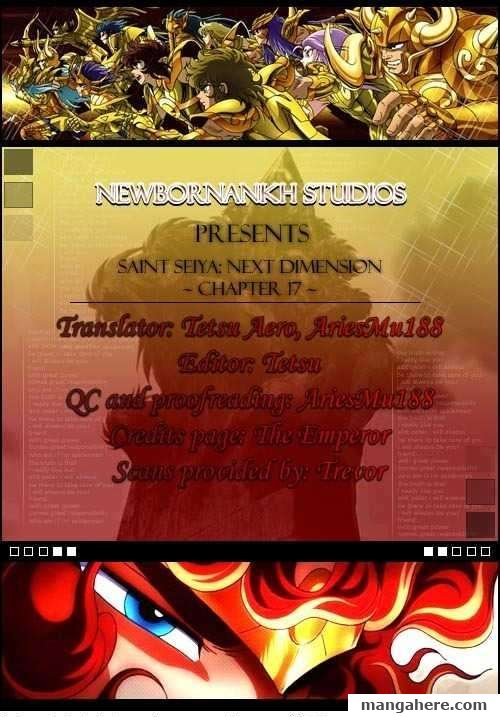 Saint Seiya - Next Dimension 17 Page 1