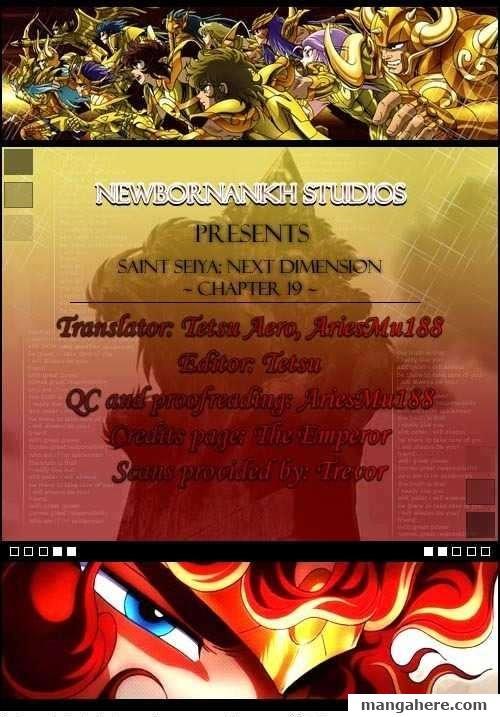 Saint Seiya - Next Dimension 19 Page 1