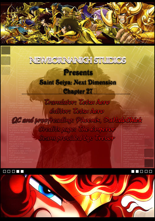 Saint Seiya - Next Dimension 27 Page 1