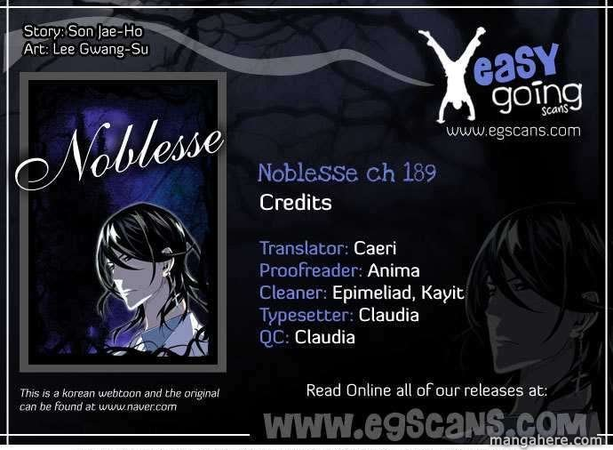 Noblesse 189 Page 1