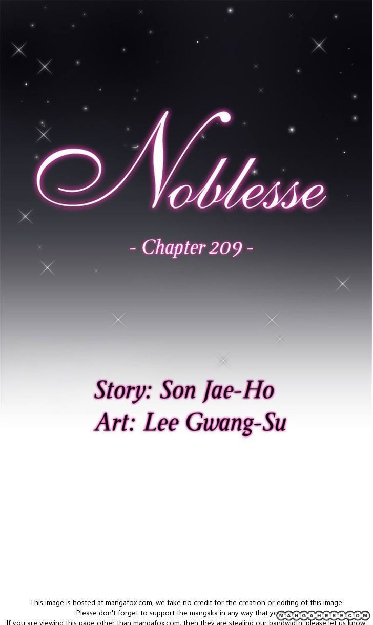 Noblesse 209 Page 1