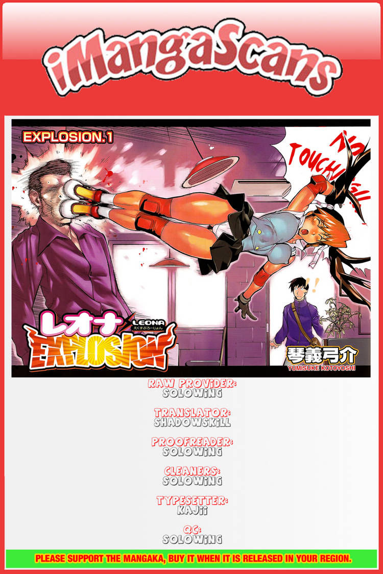 Leona Explosion 8 Page 1