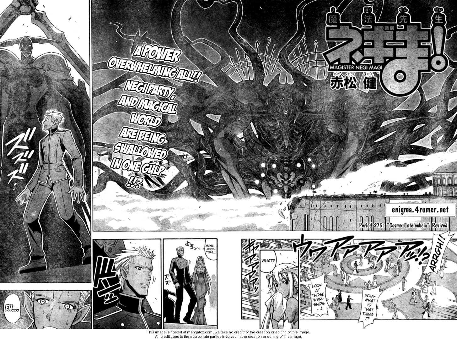 Mahou Sensei Negima! 275 Page 2
