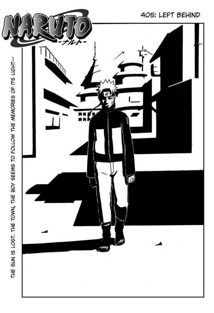Naruto 405 Page 1