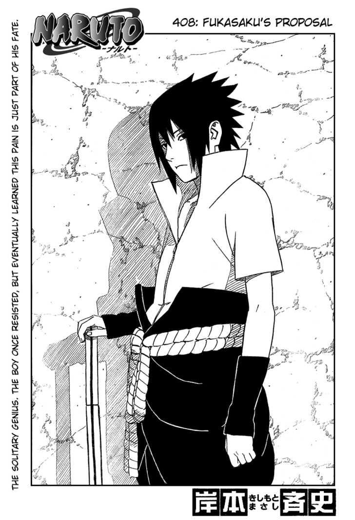 Naruto 408 Page 1