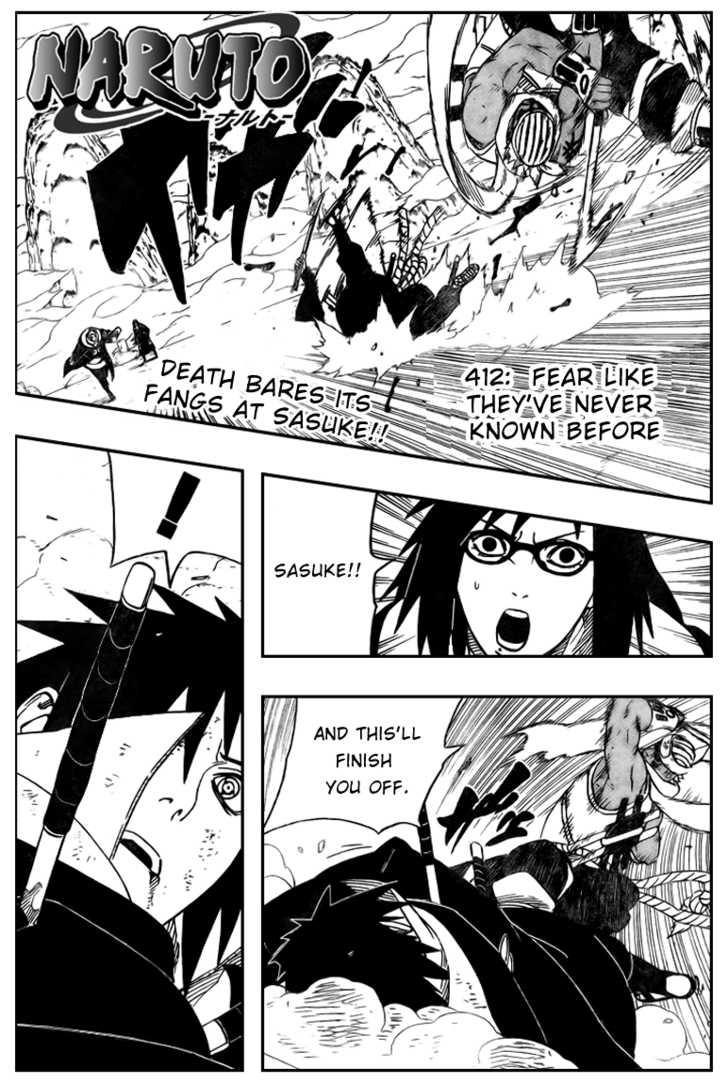 Naruto 412 Page 1