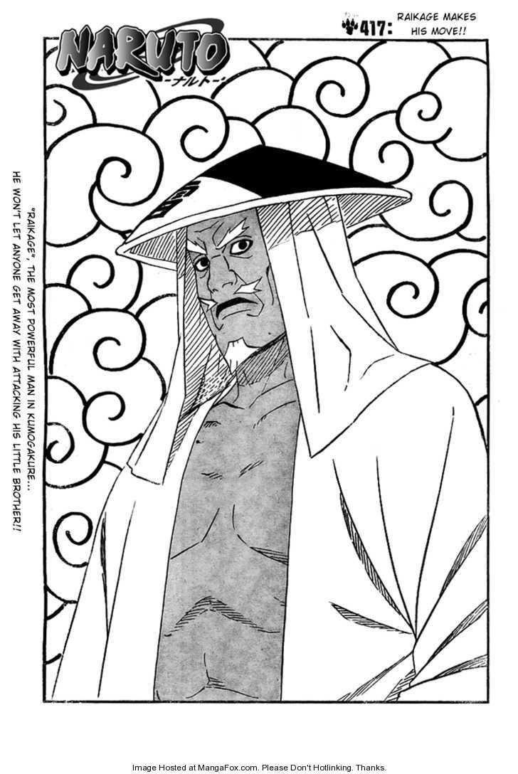 Naruto 417 Page 1