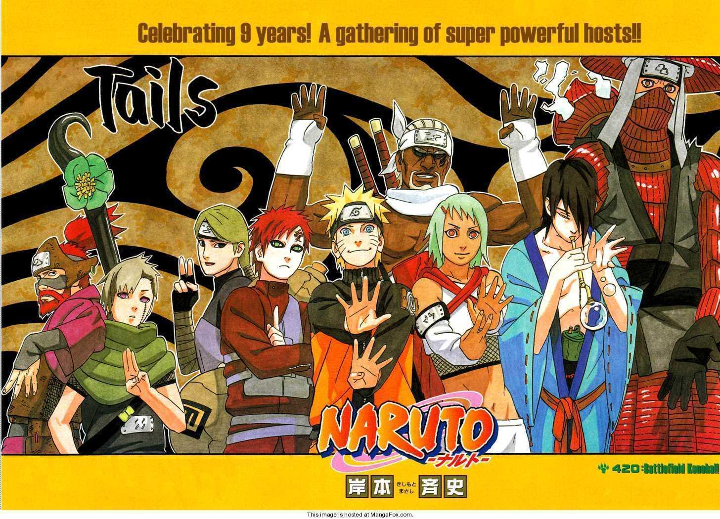 Naruto 420 Page 1