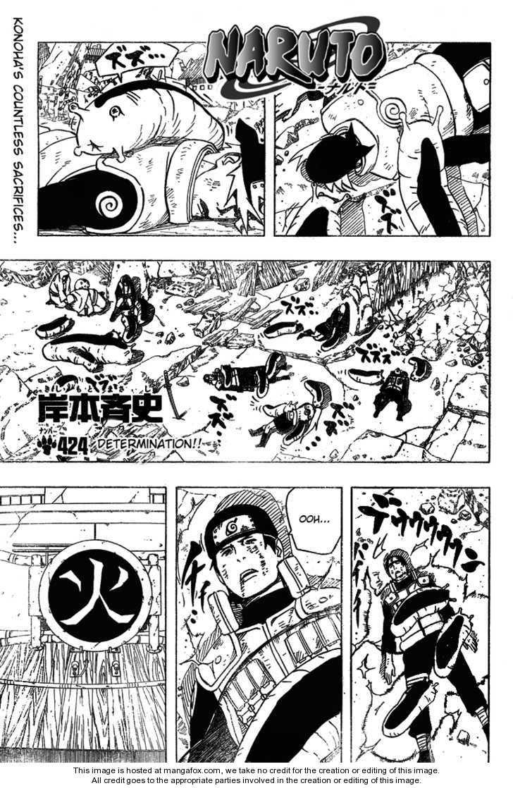 Naruto 424 Page 1
